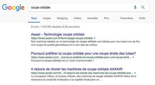 Tenir un blog dans l'industrie : exemple AXXAIR