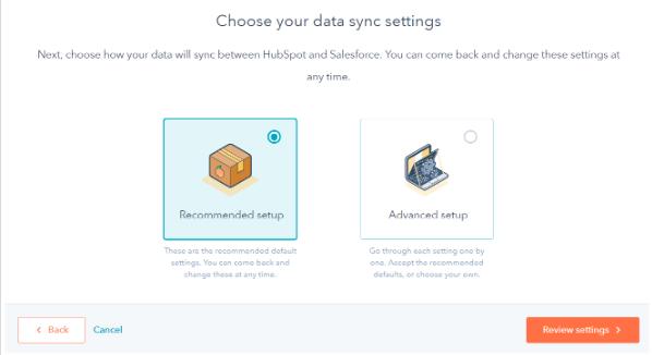synchronisation des données