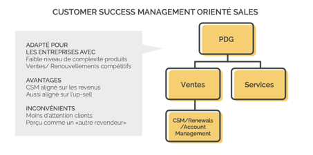 CSM orienté Sales