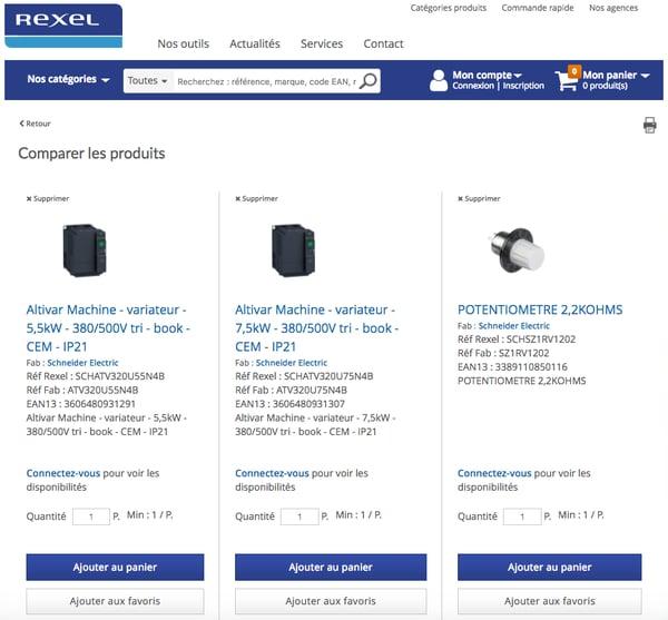 Comparaison_de_produits___Rexel_France