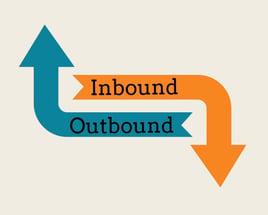 Outbound Marketing vs Inbound Marketing schéma