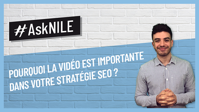 POURQUOI UTILISER VIDEO STRATEGIE SEO
