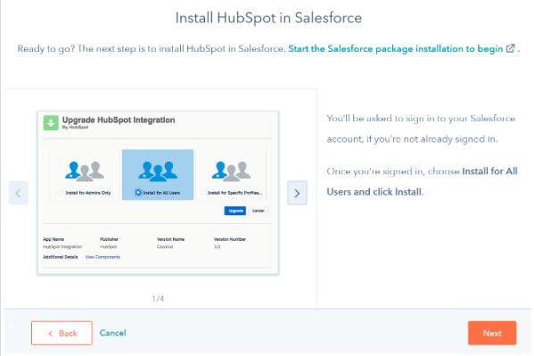 Intégrer HubSpot et Salesforce