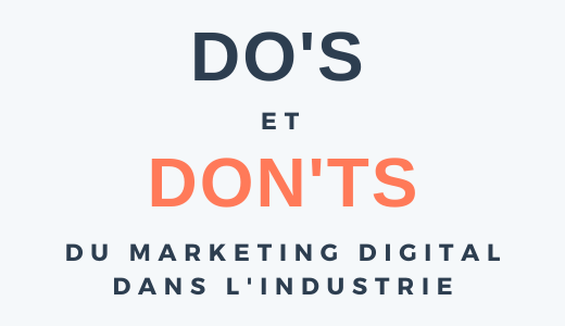 infographie marketing digital industrie